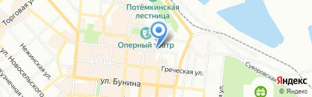 Одеська обласна організація роботодавців на карте Одессы