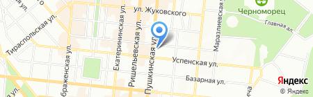 АКВА-96 на карте Одессы