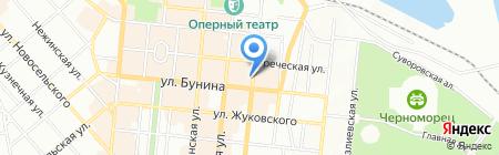 Symbol на карте Одессы