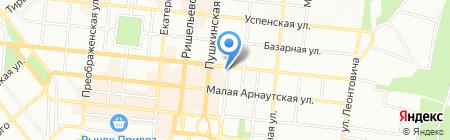 Авто-радио сервис на карте Одессы