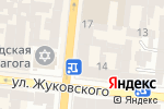 Схема проезда до компании Мистер Дог в Одессе