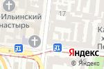 Схема проезда до компании Юг Сервис Центр в Одессе