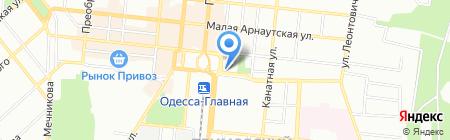 АллВи Тур на карте Одессы