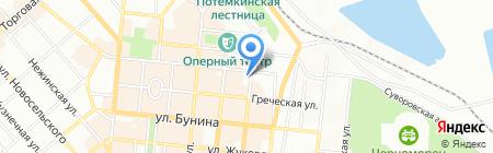 Департамент экономического развития Одесского городского совета на карте Одессы
