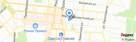 Дафни Шиппинг Эдженси на карте Одессы