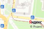 Схема проезда до компании АллВи Тур в Одессе