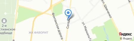 Терра-Булгара на карте Одессы