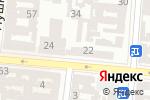 Схема проезда до компании Парикмахерская в Одессе