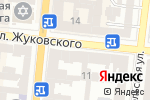 Схема проезда до компании Трубадур в Одессе