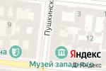 Схема проезда до компании УкрКарт в Одессе