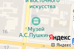 Схема проезда до компании Лига в Одессе