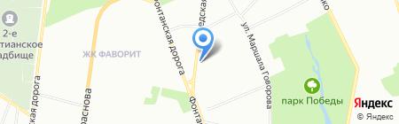 Райффайзен Банк-Аваль на карте Одессы