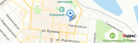 Українська страхова група ПрАТ на карте Одессы