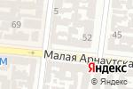 Схема проезда до компании Аврора-Сервис в Одессе
