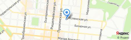 Вера Надежда Любовь на карте Одессы