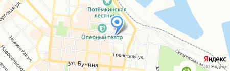 Нотариусы Запольская О.В. и Запольская В.А. на карте Одессы