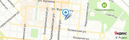 Экспресс-проект на карте Одессы