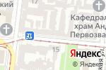 Схема проезда до компании Дарвин в Одессе