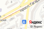 Схема проезда до компании ТРЕНДКСИМ в Одессе