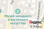 Схема проезда до компании Радіус в Одессе
