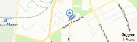 Coba`s Grill на карте Одессы