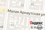Схема проезда до компании Авир в Одессе