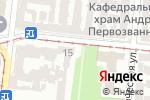 Схема проезда до компании Интерпринт в Одессе