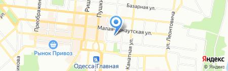 Премьер-Недвижимость на карте Одессы