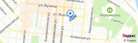 Нотариусы Мельник М.И. и Труш М.А. на карте Одессы