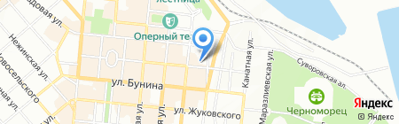 Жара на карте Одессы
