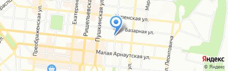Клинсервис на карте Одессы