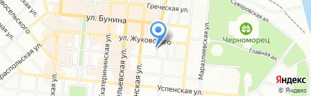 Региональное Управление в Украине Российского Морского Регистра Судоходства на карте Одессы
