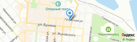 Гречка на карте Одессы