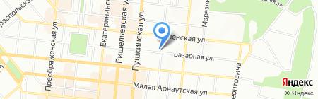 БАМБА на карте Одессы
