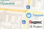 Схема проезда до компании Антикоррупционная правозащитная гильдия в Одессе
