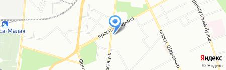 Чоха на карте Одессы