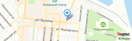 Ай Лав Ю Петрович на карте Одессы