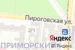 Схема проезда до компании Flower Shop в Одессе