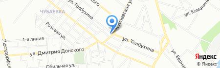 Прораб на карте Одессы