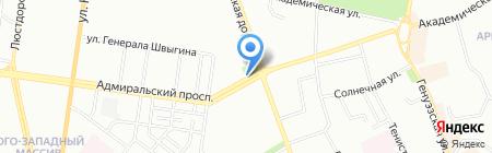 Горпресса на карте Одессы
