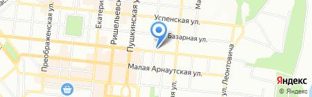 Ассамблея на карте Одессы
