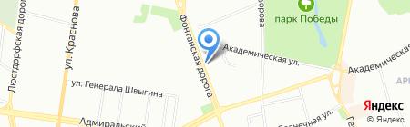 Университетская аптека на карте Одессы