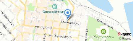 Детский сад-ясли №47 на карте Одессы