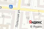 Схема проезда до компании Апостиль плюс в Одессе