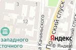 Схема проезда до компании S.webshifty.com в Одессе