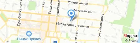 Живая Книга на карте Одессы