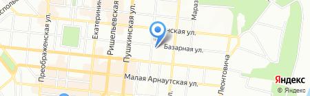 Империя стиля на карте Одессы