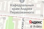 Схема проезда до компании Дорожный контроль. Одесса в Одессе