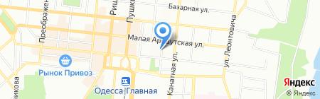 КласикБанк на карте Одессы
