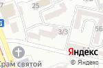 Схема проезда до компании Foxканц в Одессе